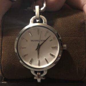 Authentic Michael Kors link bracelet watch.